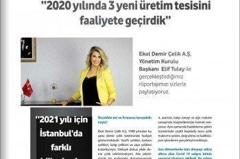 Demir Çelik Store 2020/12 Kapak ve Röpörtaj Serisi 1