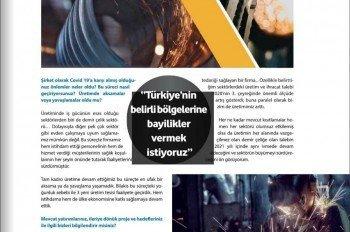 Demir Çelik Store 2020/12 Kapak ve Röpörtaj Serisi 2