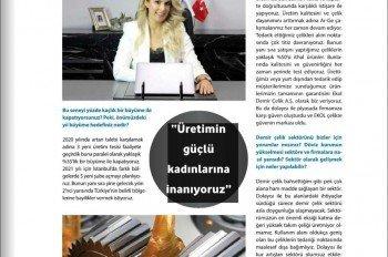 Demir Çelik Store 2020/12 Kapak ve Röpörtaj Serisi 3